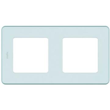 Рамка двухместная Inspiria (мятный) 673945
