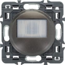 Датчик движения двухпроводной Celiane 250Вт без нейтрали без функции ручного управления (графит) 067026+067999+080251