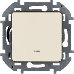 Выключатель с подсветкой Inspiria (слоновая кость) 673611