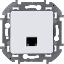 Розетка компьютерная RJ 45 Inspiria (белая) 673830