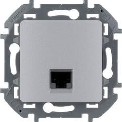 Розетка компьютерная RJ 45 Inspiria (алюминий) 673832