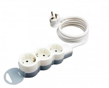 Удлинитель «Стандарт» 3 розетки с кабелем 1,5м 695001