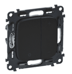 Светорегулятор для балласта 1-10В (антрацит) 752067+752088