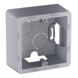 Коробка для наружного монтажа Inspiria одноместная (алюминий) 673982