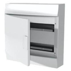 Бокс настенный ABB Mistral41 на 36 (2x18) мод. непрозрачная дверца (без клемм) 1SPE007717F0910