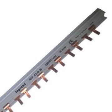 Гребенка соединительная Legand для двухполюсных 28 автоматов (L+N) 404939