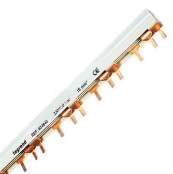Гребенка соединительная Legand для трехполюсных 19 автоматов (L1+L2+L3) 404943