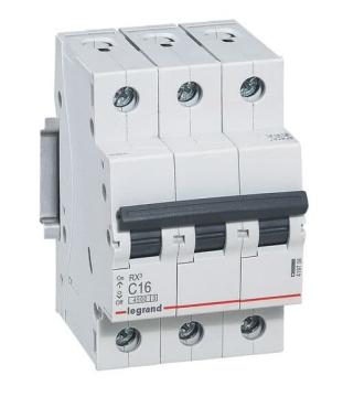 Автоматический выключатель RX3 3-полюсный 32А 419711