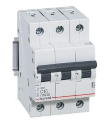 Автоматический выключатель RX3 3-полюсный 06А