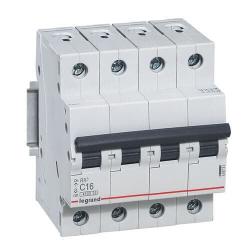 Автоматический выключатель RX3 4-полюсный 16A 419741