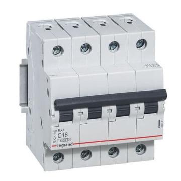 Автоматический выключатель RX3 4-полюсный 20A 419742