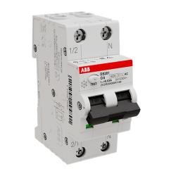 Дифференциальный автомат ABB DS201 6А 30mA тип AC 6kA (хар-ка C) 2CSR255080R1064