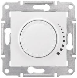 Светорегулятор 60-500 Вт Sedna проходной, емкостный (белый) SDN2200521