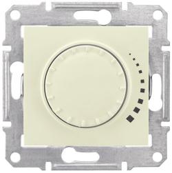Светорегулятор 60-500 Вт Sedna проходной, емкостный (бежевый) SDN2200547