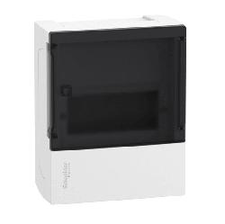 Бокс настенный SE Mini Pragma на 6 мод. с прозрачной дверью с клеммниками N+PE MIP12106S