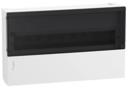 Бокс настенный SE Mini Pragma на 18 мод. с прозрачной дверью с клеммниками N+PE MIP12118S