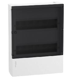 Бокс настенный SE Mini Pragma на 24 мод. с прозрачной дверью с клеммниками N+PE MIP12212S