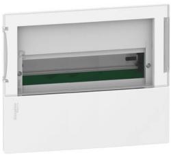 Бокс в нишу Schneider Electric Mini Pragma на 18 мод. с прозрачной дверью с клеммниками N+PE MIP22118S