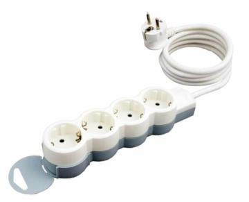 Удлинитель «Стандарт» 4 розетки с кабелем 3м 695007