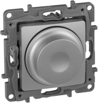 Светорегулятор Etika 300Вт  (алюминий)    672419