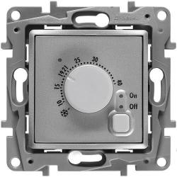 Терморегулятор для теплого пола Etika (алюминий)    672430