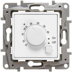 Терморегулятор для теплого пола Etika (белая) 672230