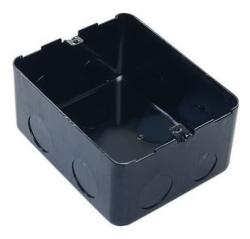 Монтажная коробка для лючков 4 модуля металлическая 054001