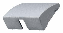 Лицевая панель Galea Life для вывода кабеля (алюминий) 771385