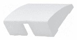 Лицевая панель Galea Life для вывода кабеля (белая) 777085
