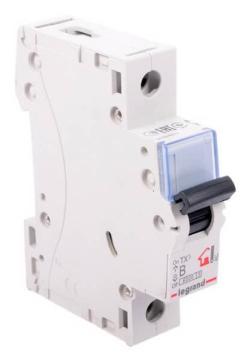 Автоматический выключатель TX3 1-полюсный 63А (хар-ка B) 403978