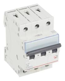 Автоматический выключатель TX3 3-полюсный 50А (хар-ка B) 404005
