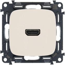 Розетка HDMI Valena Allure (слоновая кость) 754716