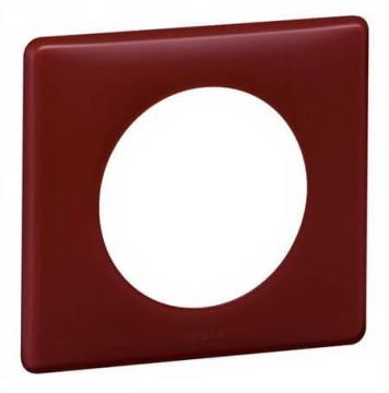 Рамка одноместная Celiane (перкаль бордо) 066751