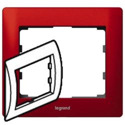 Рамка Galea life одноместная (красный) 771901