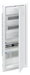 Шкаф ABB UK660MW мультимедийный с дверью с радиопрозрачной вставкой (5 рядов) 2CPX031389R9999