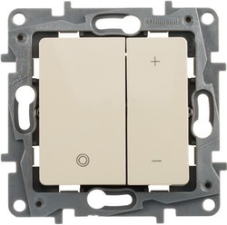 Светорегулятор 400Вт Etika (слоновая кость) 672318