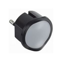 Ночник с функцией ручного фонарика Legrand (черный) 050679