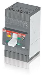 Выключатель автоматический ABB Tmax XT1B 160 TMD 16-450 3p F F на 16 Ампер 1SDA066799R1