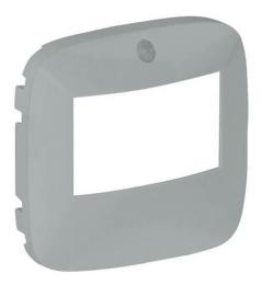 Лицевая панель Legrand Valena Allure для датчика движения, без ручного управления (алюминий)