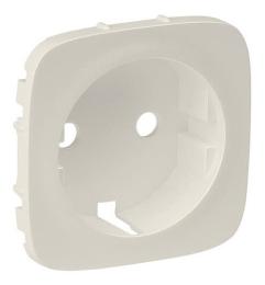 Лицевая панель Legrand Valena Allure для розетки (сл. кость)