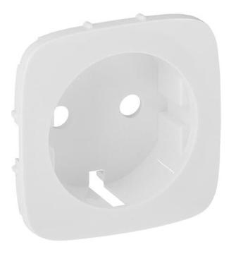 Лицевая панель Legrand Valena Allure для розетки (белая) 755205