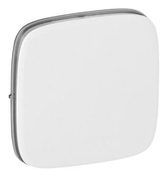 Лицевая панель Legrand Valena Allure для выключателя и переключателя (белая) 755005