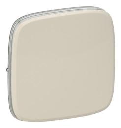 Лицевая панель Legrand Valena Allure для выключателя и переключателя (сл. кость) 755006