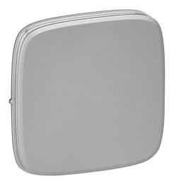 Лицевая панель Legrand Valena Allure для выключателя и переключателя (алюминий) 755007
