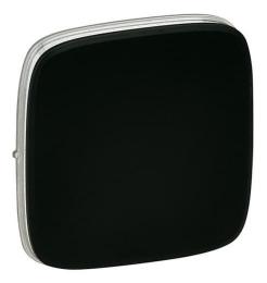 Лицевая панель Legrand Valena Allure для выключателя и переключателя (антрацит) 755008