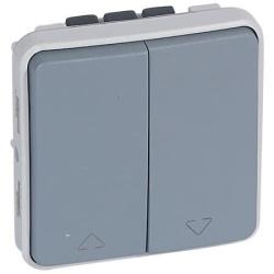 Переключатель для управления приводами Plexo IP55 (серый) 069538