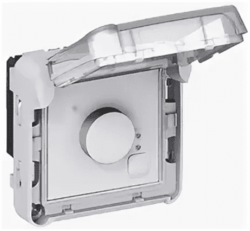 Электронный комнатный термостат Plexo 069508
