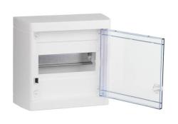 Бокс настенный Legrand Nedbox на 8 мод. прозрачная дверца (с шиной) 601245