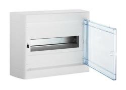 Бокс настенный Legrand Nedbox на 12 мод. прозрачная дверца (с шиной) 601246