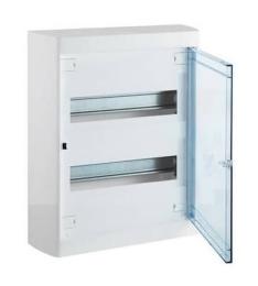Бокс настенный Legrand Nedbox на 24 мод. прозрачная дверца (с шиной) 601247